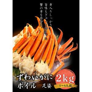 ズワイガニ 足姿 ボイル 2kg かに カニ 蟹 ずわいがに ずわい蟹 冷凍 ギフト プレゼント 御歳暮 内祝い に最適|foodyamadaya
