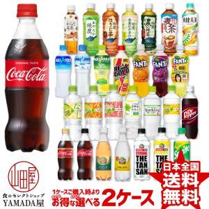 【選べる2ケースセット】 コカコーラ社製品 500ml 48本(24本×2箱) よりどり2箱 送料無料 コーラ アクエリ お茶 綾鷹 水 いろはす ファンタ 日本コカコーラ foodyamadaya
