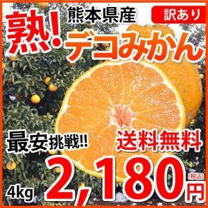 デコポン 同品種 訳ありデコみかん 送料無料 4kg S〜3...