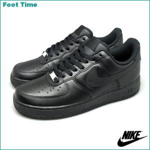 ナイキ エア フォース ワン ロー 07 315122-001 ブラック/ブラック メンズ スニーカー|foot-time
