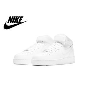 ナイキ エア フォース ワン ミッド 07 ホワイト/ホワイト 315123-111|foot-time