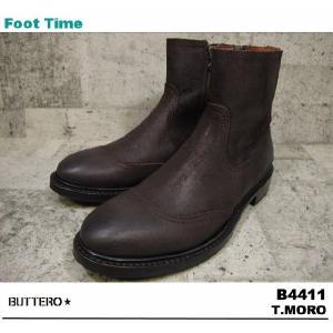 BUTTERO B4411 T.MORO 【ブッテロ B4411】 BROWN|foot-time
