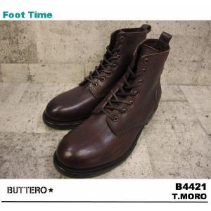 BUTTERO B4421 T.MORO 【ブッテロ B4421】 BROWN|foot-time