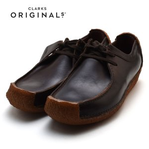 CLARKS NATALIEクラークス ナタリー CHESTNUT LEATHER 26109038|foot-time