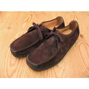 CLARKS NATALIEクラークス ナタリー BROWN SUEDE 20319011|foot-time