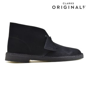 CLARKS DESERT BOOTクラークス デザートブーツ BLACK SUEDE 26107882|foot-time|02