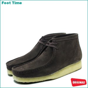 CLARKS WALLABEE BOOTクラークス ワラビー ブーツBROWN SUEDE 35402 26103658|foot-time