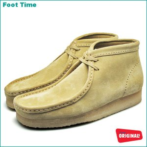 CLARKS WALLABEE BOOTクラークス ワラビー ブーツ MAPLE SUEDE 26103811|foot-time