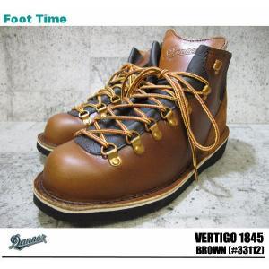 DANNER VERTIGO 1845 ダナー バーティゴ 1845 BROWN #33112|foot-time
