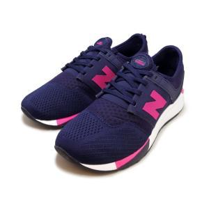 ニューバランス KL247 NPG ネイビー/ピンク|foot-time
