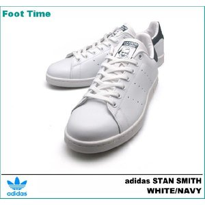 アディダス スタン スミス ホワイト/ネイビー M20325|foot-time