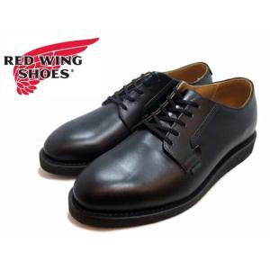 REDWING 101 POSTMAN OXFORD  【レッドウイング オックスフォード】 BLACK 101 foot-time