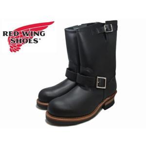 REDWING 2268レッドウィング 11インチ エンジニア ブーツ BLACK foot-time