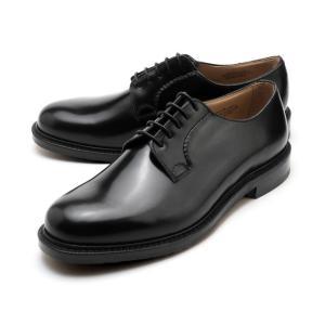 チャーチ シャノン ポリッシュドバインダー ブラック ビジネスシューズ 紳士靴 メンズ|foot-time