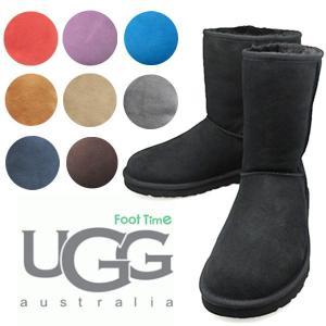 UGG CLASSIC SHORT 【アグ クラシック ショート】 BLACK CHOCOLATE CHESTNUT GREY 5825|foot-time