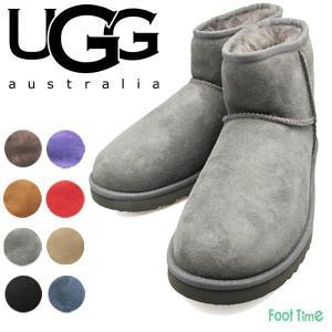 アグ クラシック ミニ UGG CLASSIC MINI  BLACK(ブラック) CHOCOLATE(チョコレート) CHESTNUT(チェスナット) GREY(グレー) 5854|foot-time