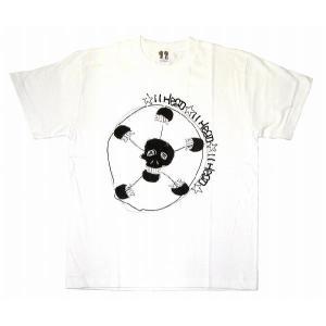 11HEAD ドクロ×サッカーボールTシャツ[ホワイト]|footballfan