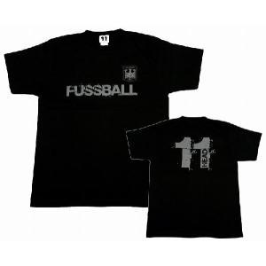 11HEAD FUSSBAL-Tシャツ[ブラック]【ワールドカップ関連】|footballfan