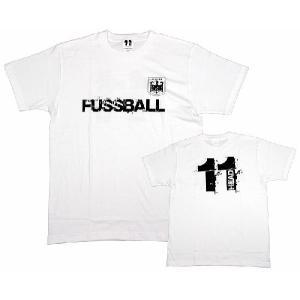 11HEAD FUSSBAL-Tシャツ[ホワイト]【ワールドカップ関連】|footballfan
