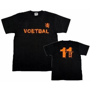11HEAD VOETBAL-Tシャツ[ブラック]【ワールドカップ関連】|footballfan