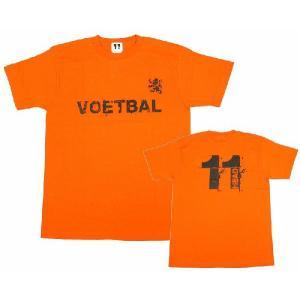 11HEAD VOETBAL-Tシャツ[オレンジ]【ワールドカップ関連】|footballfan