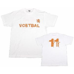 11HEAD VOETBAL-Tシャツ[ホワイト]【ワールドカップ関連】|footballfan