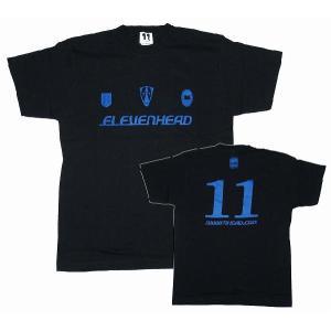 11HEAD ワールドサッカーダイジェスト コラボレートTシャツ[ブラック]|footballfan