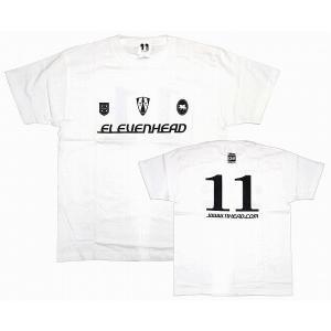11HEAD ワールドサッカーダイジェスト コラボレートTシャツ[ホワイト]|footballfan