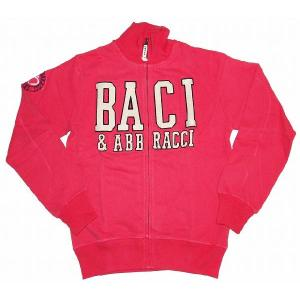 BACI&ABBRACCI メンズ トラックジャケット(ピンク)|footballfan