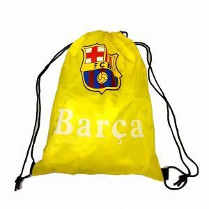 FCバルセロナ(バルサ) ナイロンバッグ(黄)|footballfan