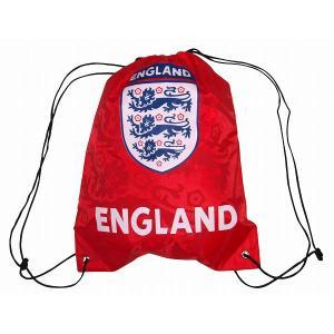 イングランド代表 ナイロンバッグ(赤)|footballfan