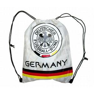 ドイツ代表 ナイロンバッグ(白)|footballfan