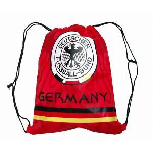 ドイツ代表 ナイロンバッグ(赤)|footballfan