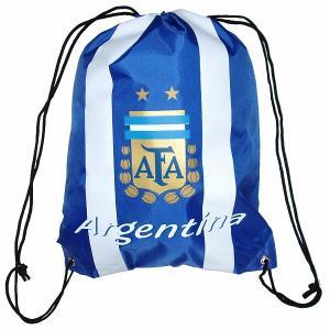 アルゼンチン代表 ナイロンバッグ(青)|footballfan