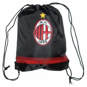 ACミラン ナイロンバッグ(黒)|footballfan
