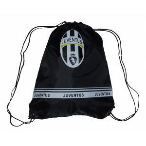 ユベントス ナイロンバッグ(黒)|footballfan