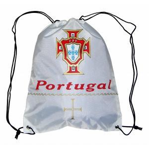 ポルトガル代表 ナイロンバッグ(白)|footballfan