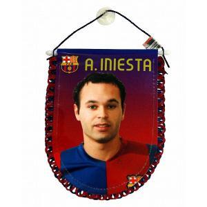 F.C.バルセロナ(オフィシャル) ペナント(イニエスタ)|footballfan