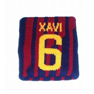 FCバルセロナ(オフィシャル) リストバンド(#6シャビ)|footballfan