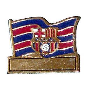 F.C.バルセロナ(オフィシャル) ピンバッジ [フラッグ]|footballfan