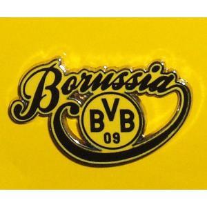 ボルシア・ドルトムント(オフィシャル) ピンバッジ(Borussia筆記体)|footballfan