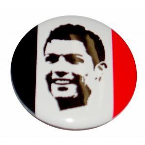クリスティアーノ・ロナウド(マンチェスターユナイテッド) 缶バッジ|footballfan