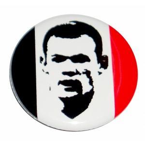 ウェイン・ルーニー(マンチェスターユナイテッド) 缶バッジ|footballfan