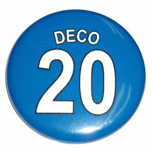 デコ(チェルシー 20)ユニフォーム缶バッジ|footballfan