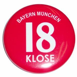 クローゼ(バイエルンミュンヘン 18)ユニフォーム缶バッジ|footballfan