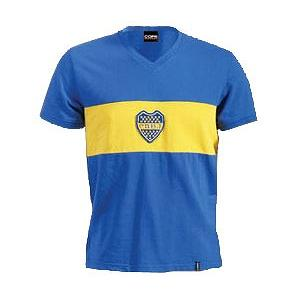 COPA CLASSIC(502) BOCA/コパ・クラシック ボカ レトロユニフォームTシャツ '70モデル|footballfan