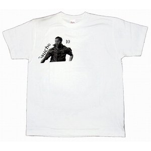 CRAQUE ガウーショ(ロナウジーニョ)Tシャツ 白×黒|footballfan