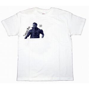 CRAQUE ガウーショ(ロナウジーニョ)Tシャツ 白×紺|footballfan