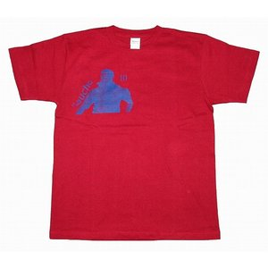 CRAQUE ガウーショ(ロナウジーニョ)Tシャツ エンジ×紺|footballfan