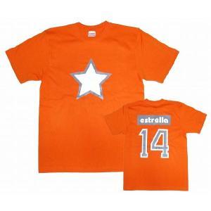 【estrella】 No.14 Tシャツ(オレンジ)|footballfan